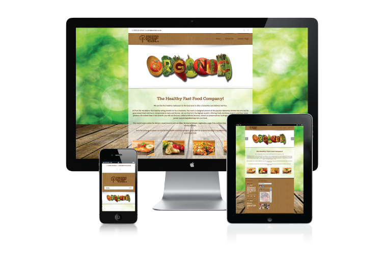 Pure-Eat-Website